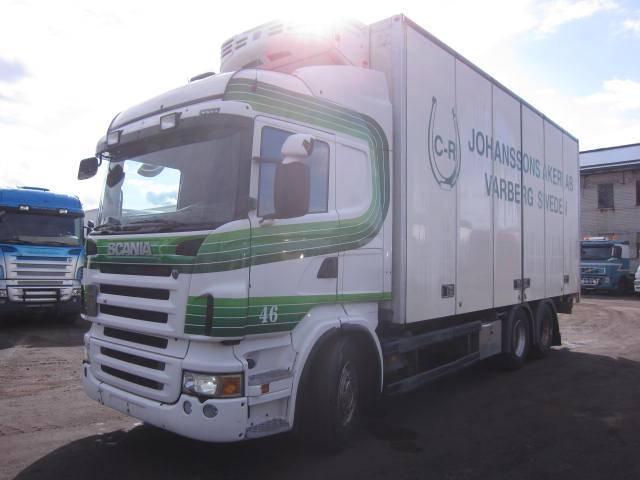 Scania R 480 LB, Külmikautod, Transport