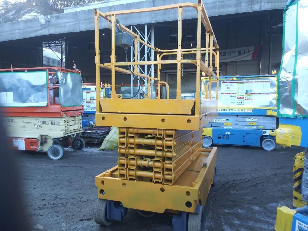 Haulotte Compact 14, Scissor Lifts, Construction Equipment