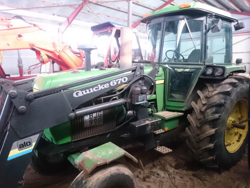 John Deere 4240 QR, Traktorer, Lantbruk
