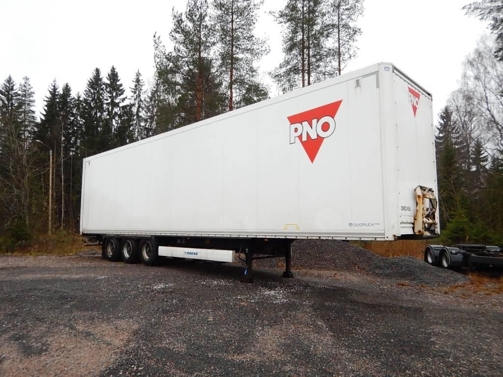 Krone Umipikori ppv, 4,40m korkea, 2-taso, Box body semi-trailers, Transportation