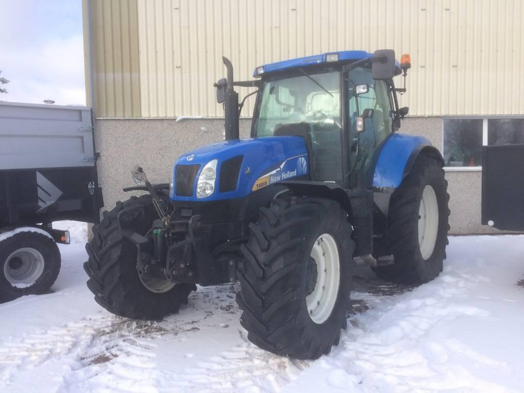 New Holland T 6080 PC, Traktorer, Lantbruk