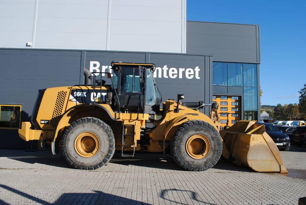 Caterpillar 966K, Wielladers, Bouw