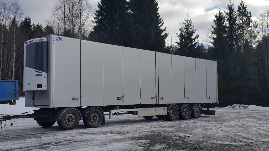 Närko D5H, Kylmä-/Lämpökoriperävaunut, Kuljetuskalusto