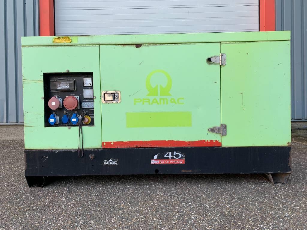 Pramac GBL 45 Kva Perkins generator, Diesel generatoren, Bouw