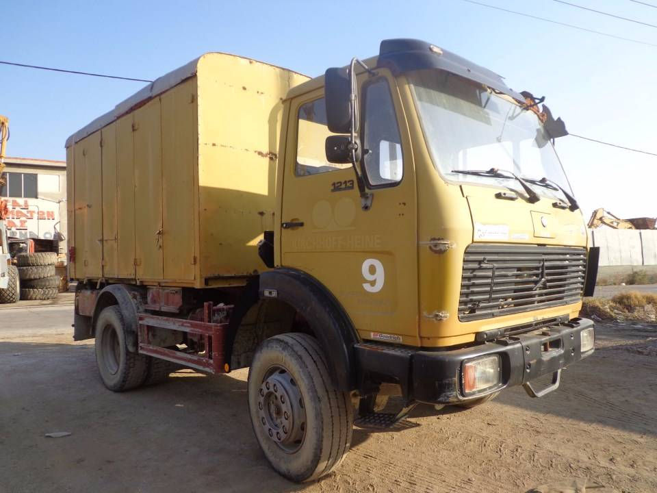 Used mercedes benz 1213 utility truck other trucks for for Mercedes benz used trucks