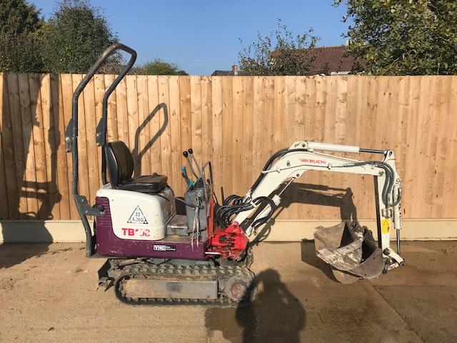 Takeuchi TB108, Mini excavators < 7t (Mini diggers), Construction