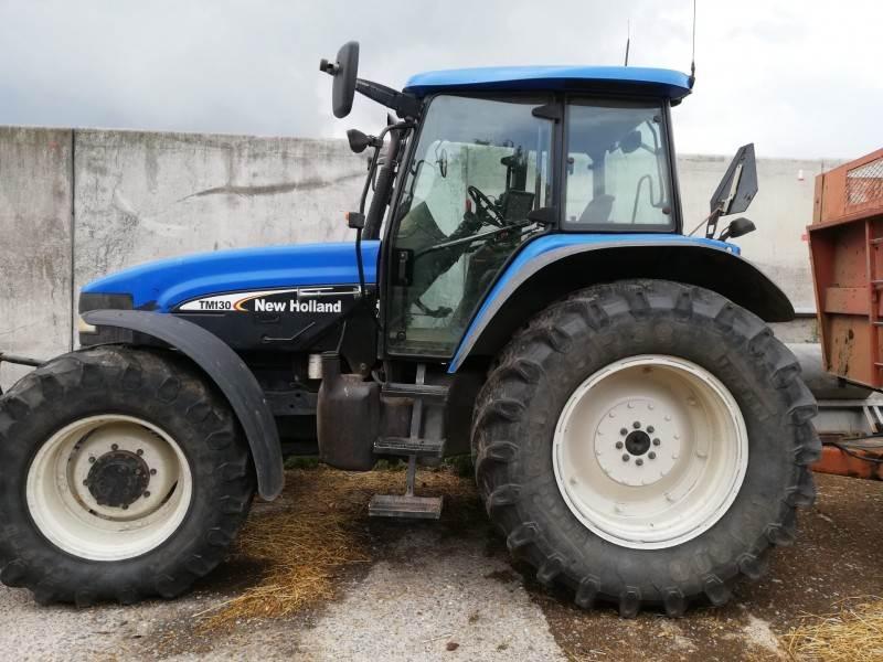 New Holland TM130 tractor  tracteur, Tractoren, Landbouw