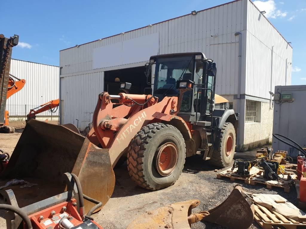 Hitachi ZW 180, Wheel Loaders, Construction Equipment