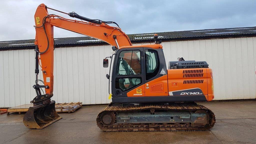 Doosan DX 140 LC-5, Crawler Excavators, Construction Equipment