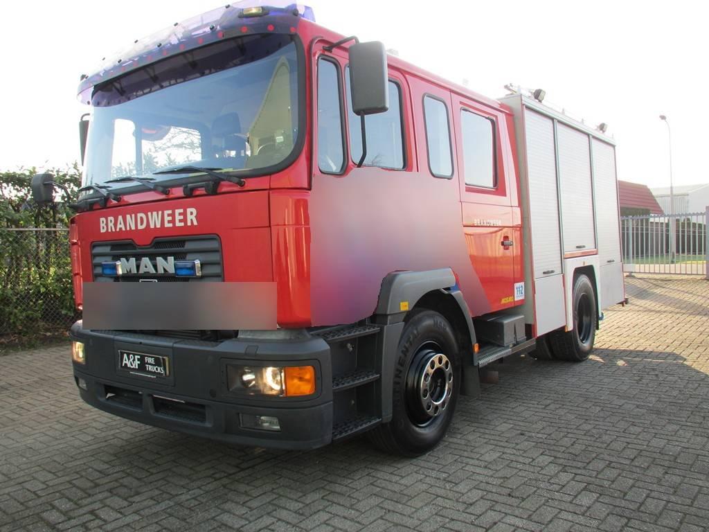 MAN 18-284 Firetruck, Carros de bombeiros, Transporte