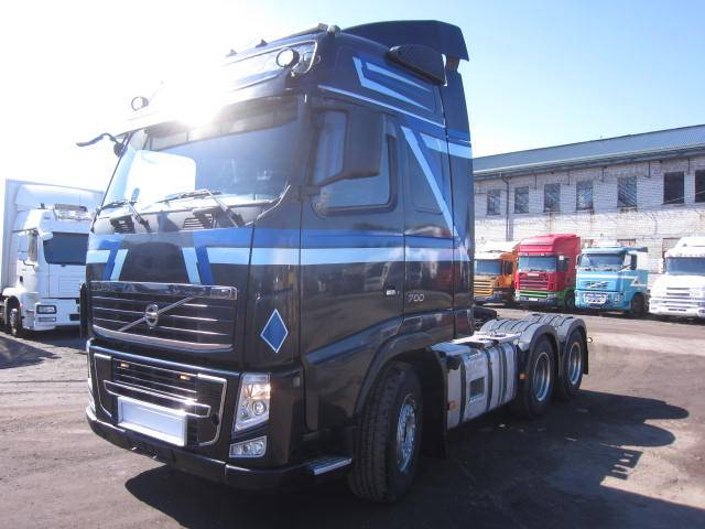 Volvo FH700, Sadulveokid, Transport