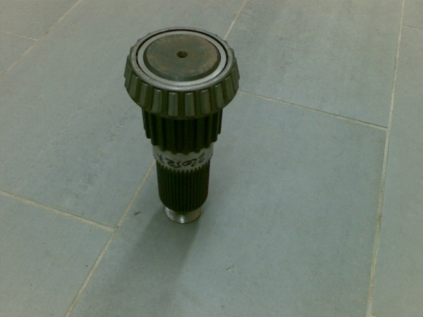 Bell Input Shaft, Other components, Construction
