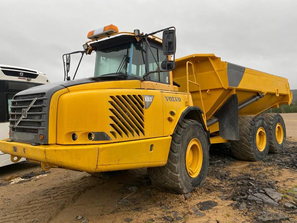 Volvo A 30 D, Articulated Dump Trucks (ADTs), Construction Equipment