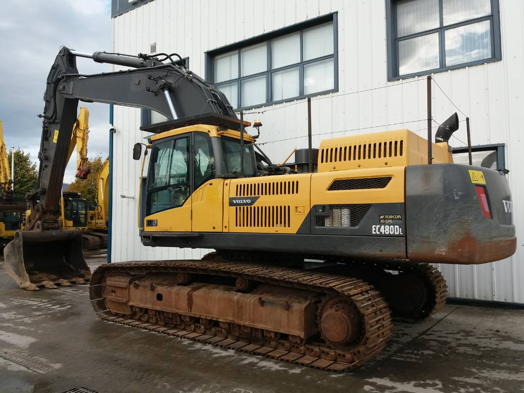 Volvo EC 480 D L, Crawler Excavators, Construction Equipment