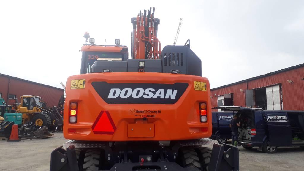 Doosan DX 165 W-5, Uthyres, Hjulgrävare, Entreprenad