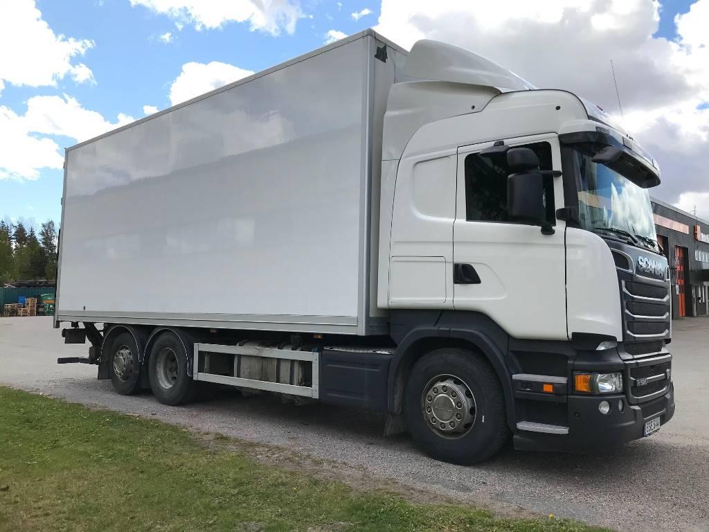 Scania R520 V8, Box trucks, Trucks and Trailers