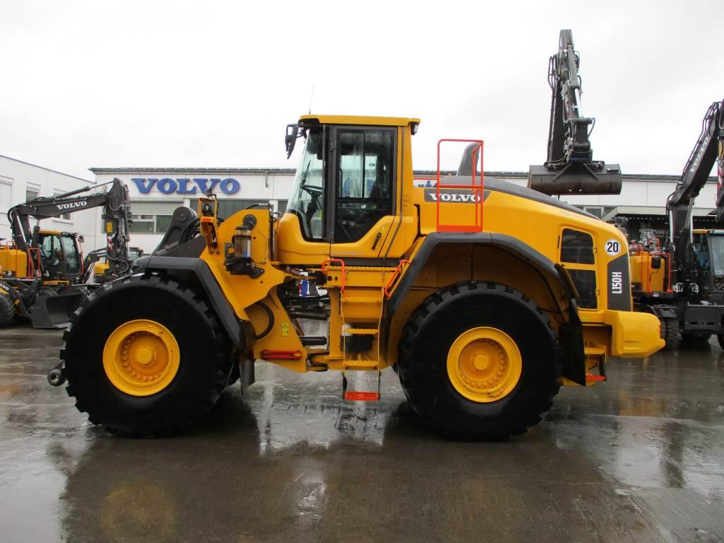 Volvo L150H, Skid Steer Loaders, Construction Equipment