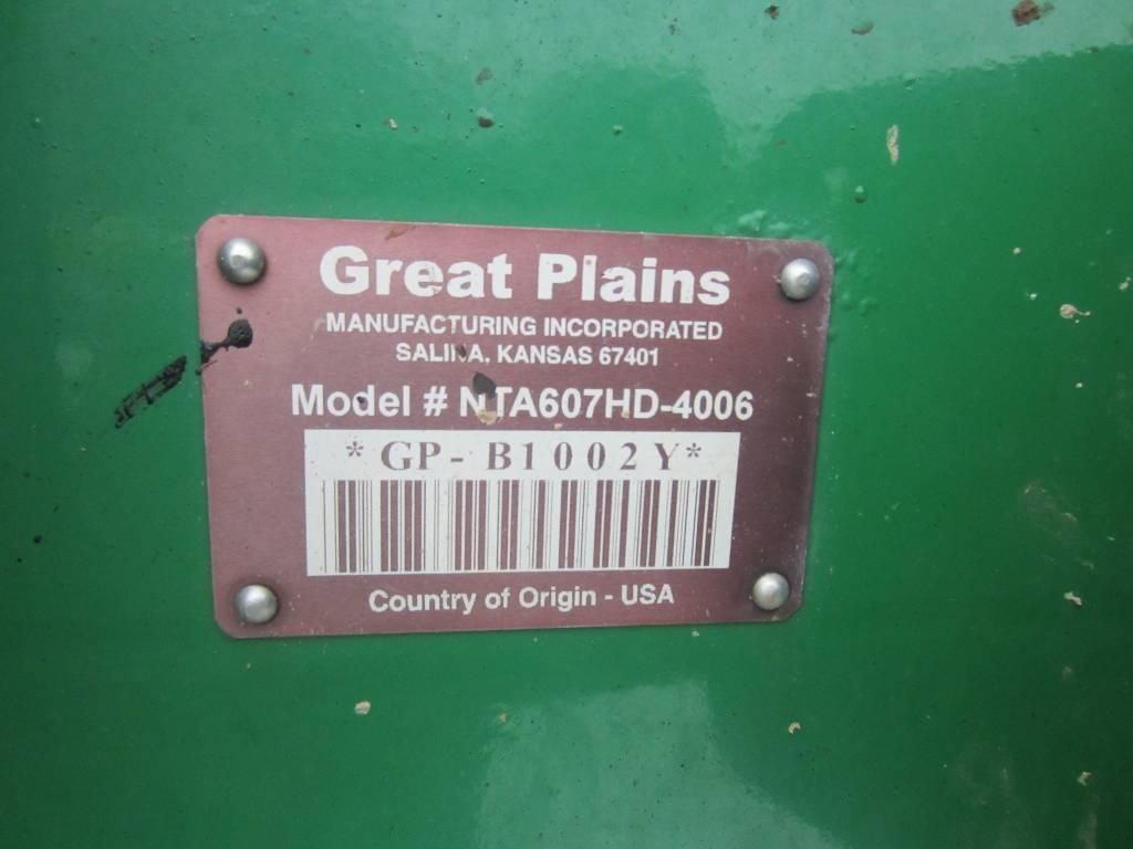 Great Plains Spartan 607, Külvikud, Põllumajandus