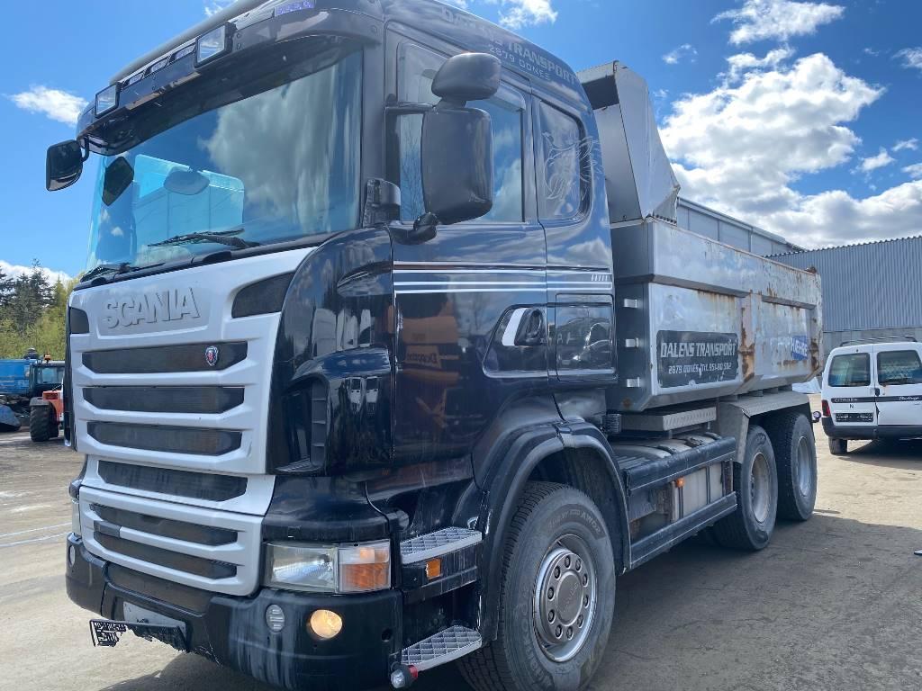 Scania R480CB6x4HHZ, Tippbil, Transport