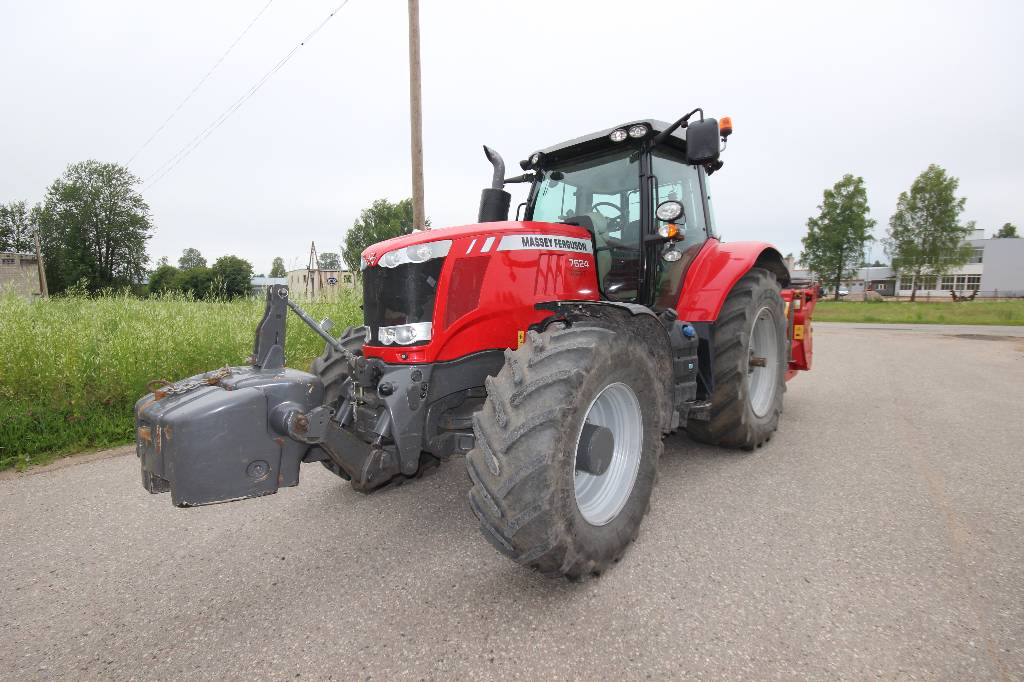 Massey Ferguson 7624, DYNA-VT, EXCLUSIVE