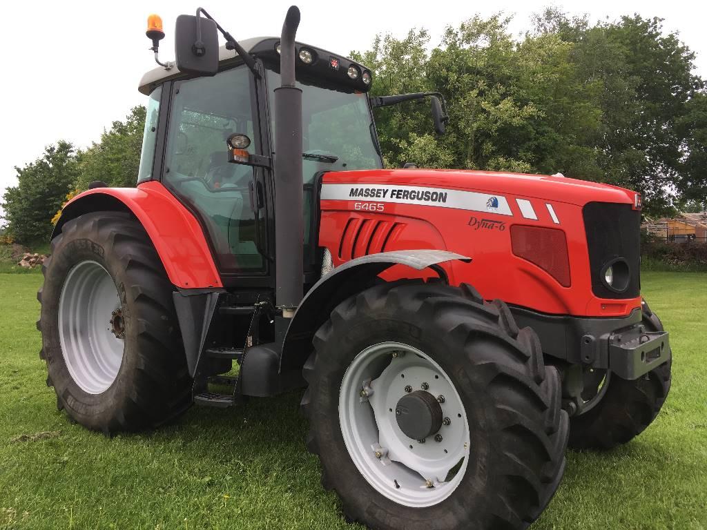 Massey Ferguson 6465 Dyna- 6 Tier 3, Tractoren, Landbouw