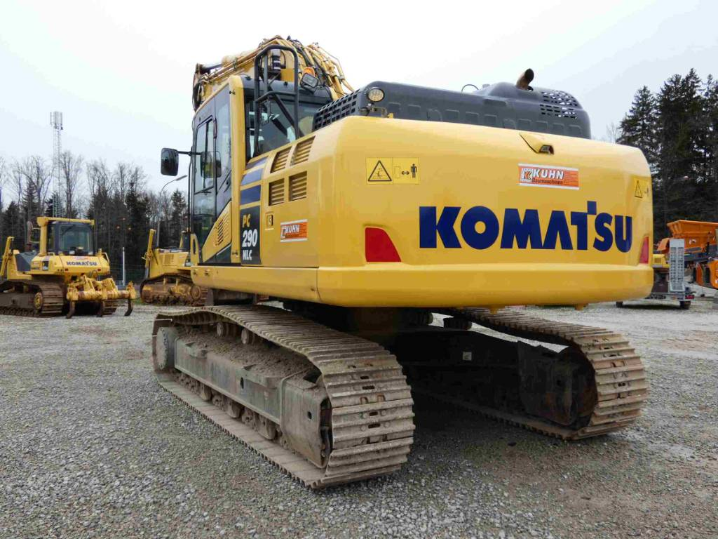 Komatsu PC290NLC-11, Crawler Excavators, Construction Equipment