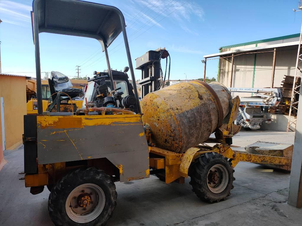 Dumec BT1400, Mezcladoras de cemento y hormigón, Construcción