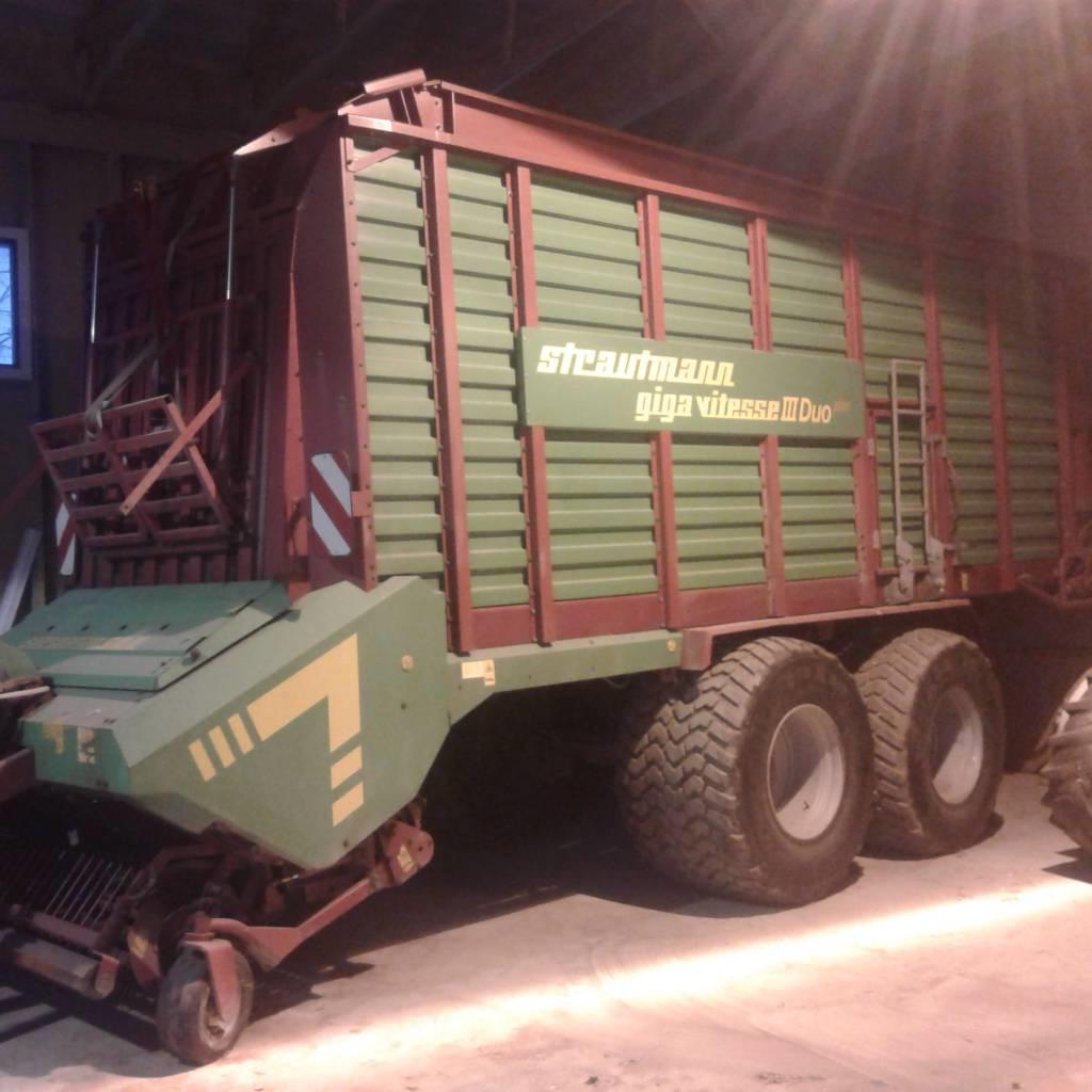 Strautmann Giga-Vitesse 3 Duo noukinvaunu, Keräävät noukinvaunut ja silppurivaunut, Maatalous