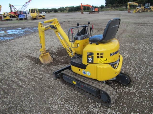 Komatsu PC10MR-2, Mini excavators < 7t (Mini diggers), Construction