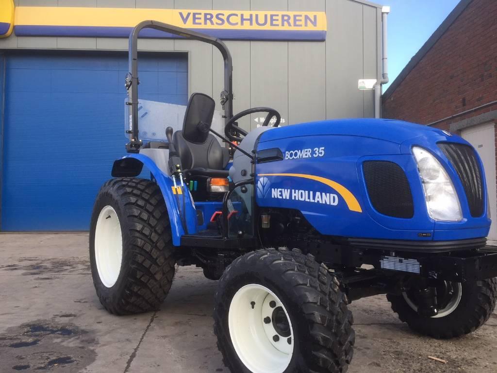 New Holland Boomer 35 HST, Compacttrekkers, Terreinbeheer