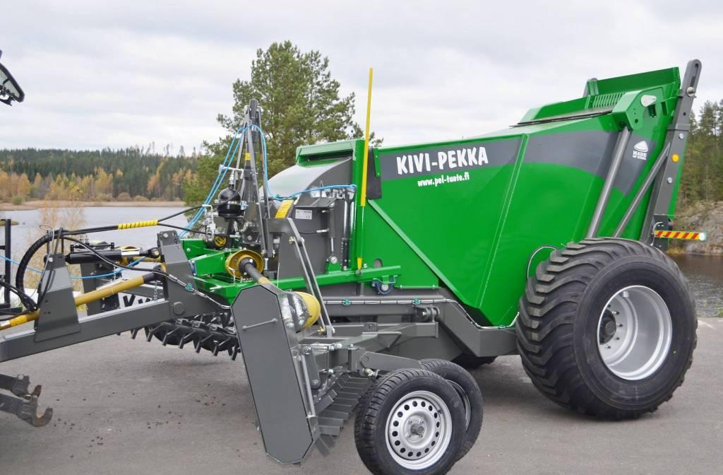 Kivi-Pekka 4-5-6, Kivenkeräyskoneet, Maatalous