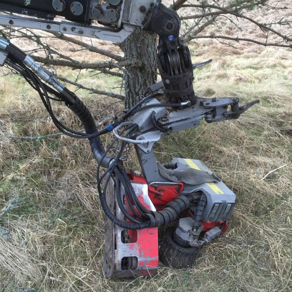 Log Max 4000, Skördaraggregat, Skogsmaskiner