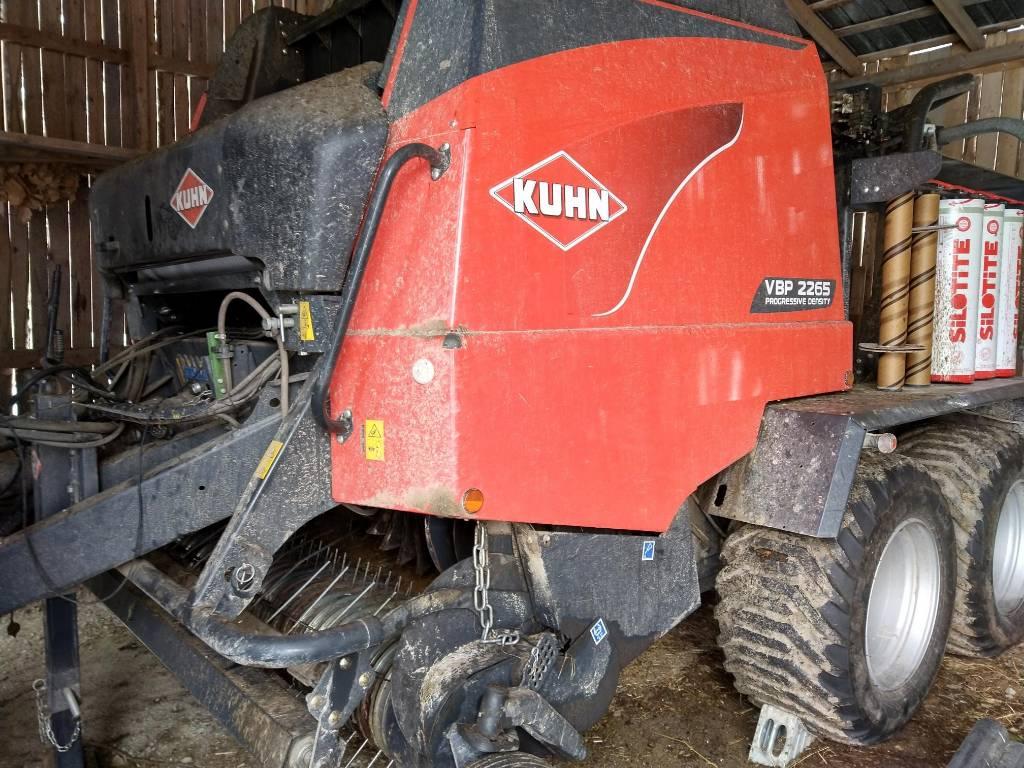 Kuhn VBP 2265 yhdistelmäpaalain, Pyöröpaalaimet, Maatalous