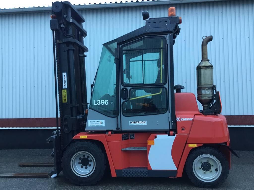 Kalmar DCE 55-6 HM, Dieselmotviktstruckar, Materialhantering