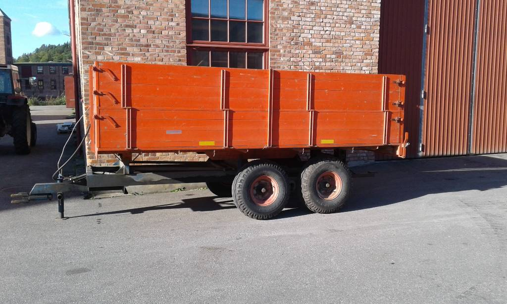 [Other] Boggiekärra 8 Ton, Spannmålsvagnar, Lantbruk