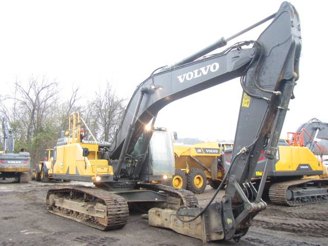 Volvo EC300EL, Crawler Excavators, Construction Equipment