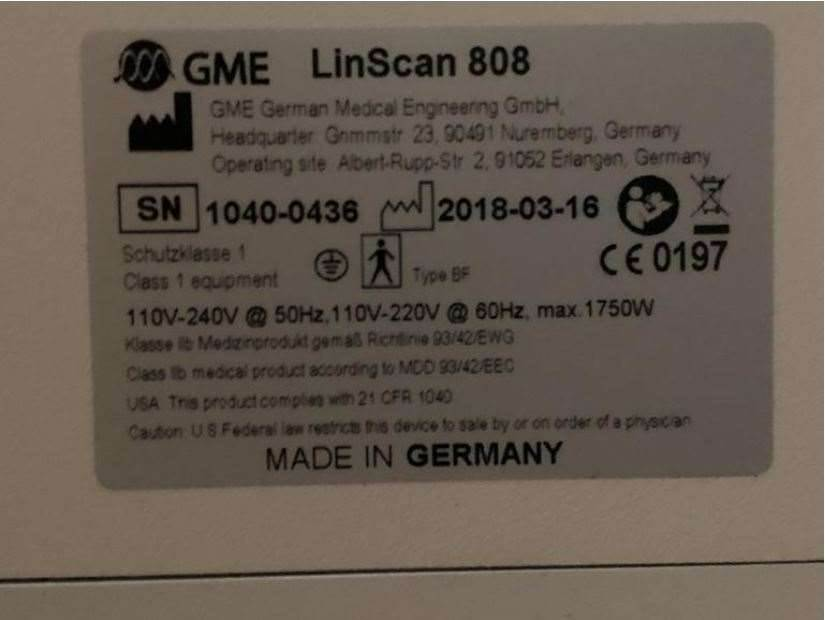 [Other] GME LinScan 808 Linscan, Lasers, Extra