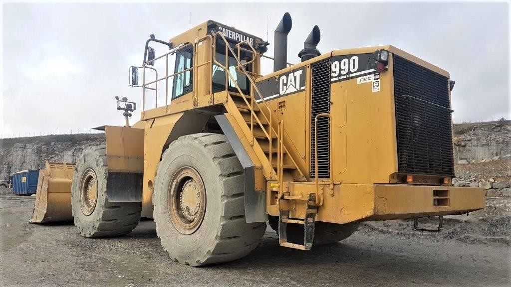 Caterpillar 990 II, Hjullastare, Entreprenad