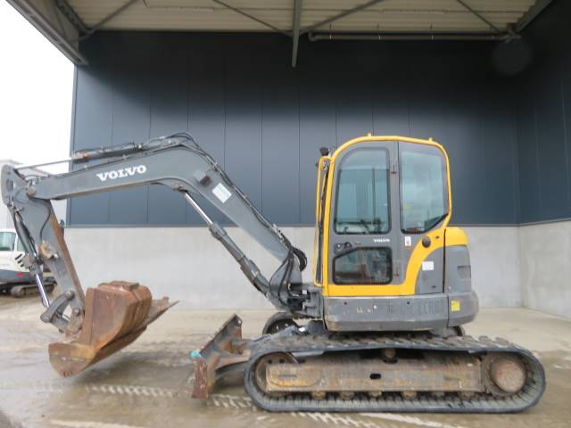Volvo ECR 88, Midi excavators  7t - 12t, Construction