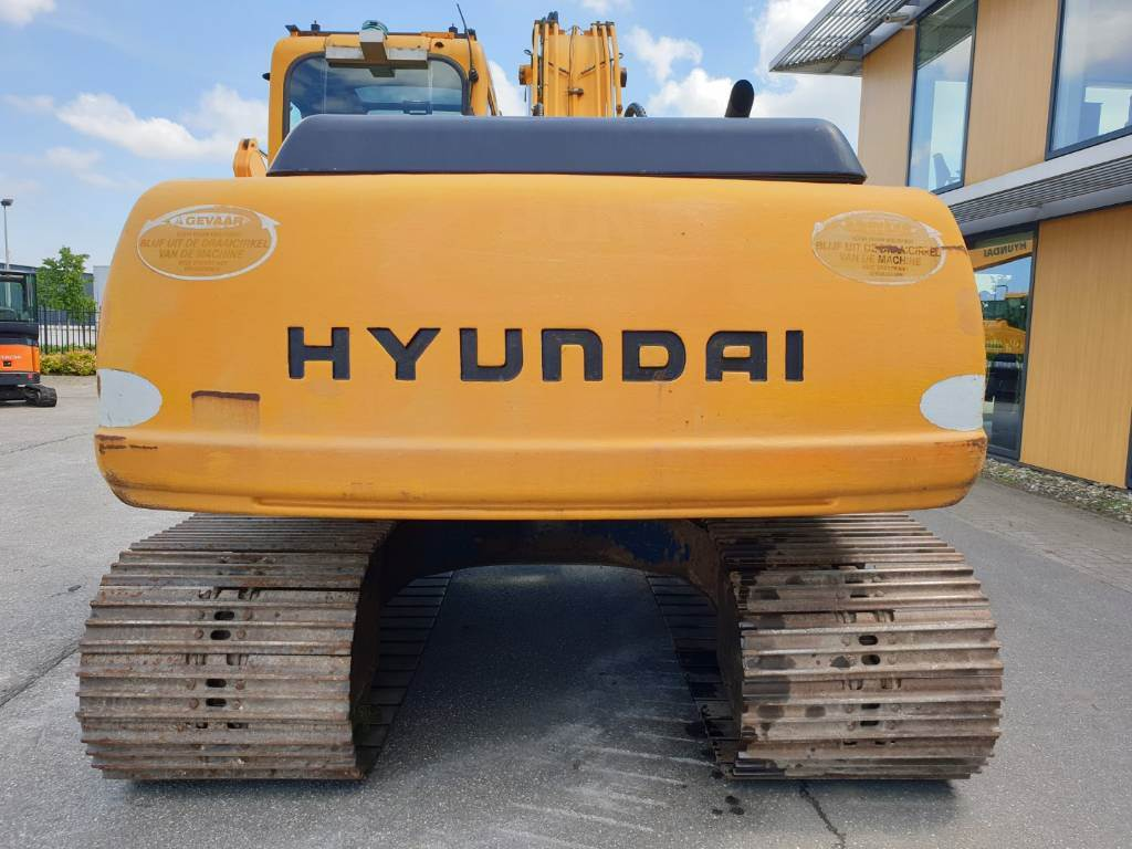 Hyundai Robex 160 LC-3, Crawler Excavators, Construction Equipment