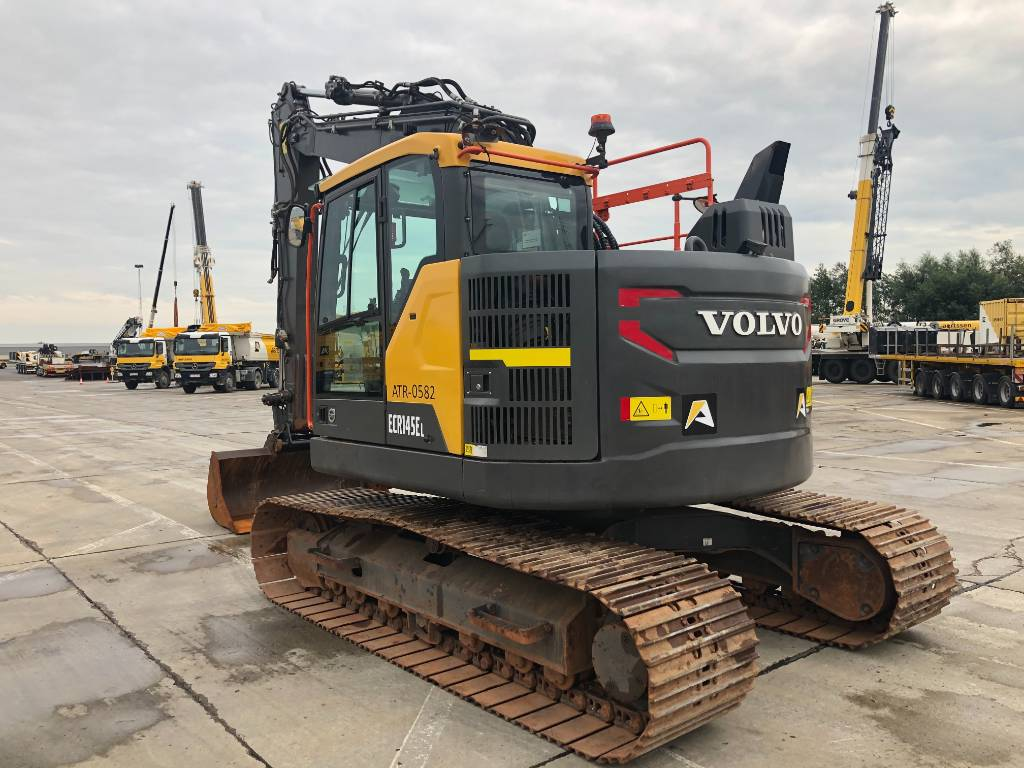 Volvo ECR 145 E L, Crawler excavators, Construction