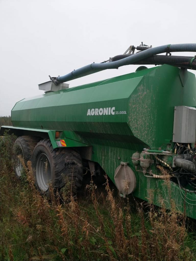 Agronic 25m3 pumppukuormain, multain, Lietteen levittimet, Maatalous