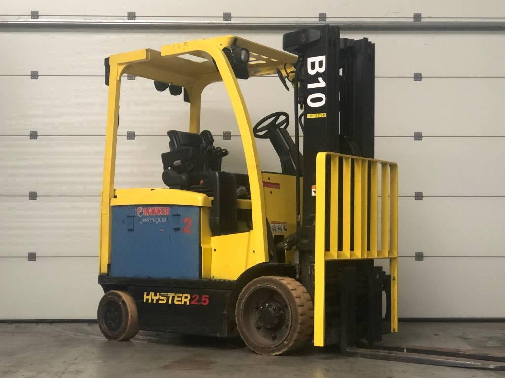 Hyster E2.5XN mwb, Elektrische heftrucks, Laden en lossen