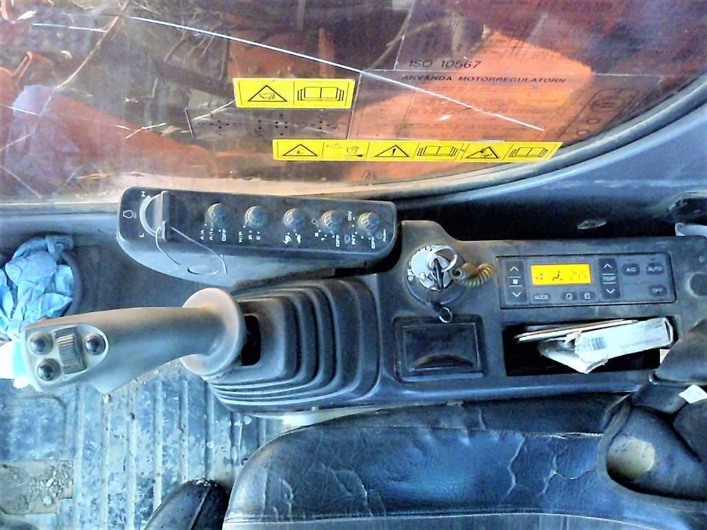 Hitachi ZX 280 LC, Bandgrävare, Entreprenad