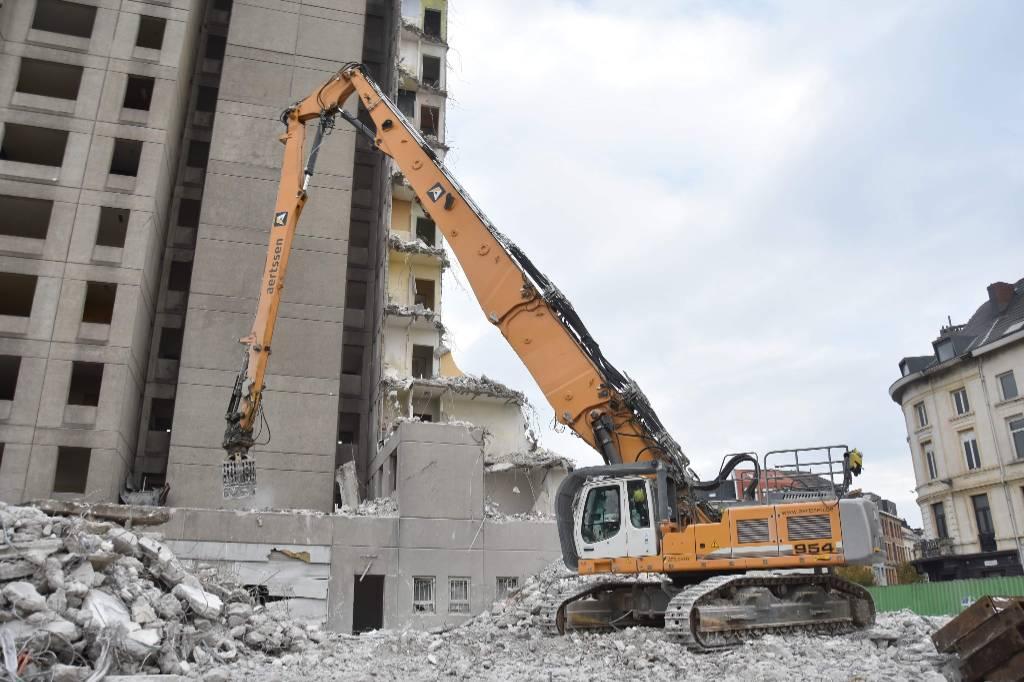 Liebherr R 954C VH -HDW Litronic, Demolition excavators, Construction