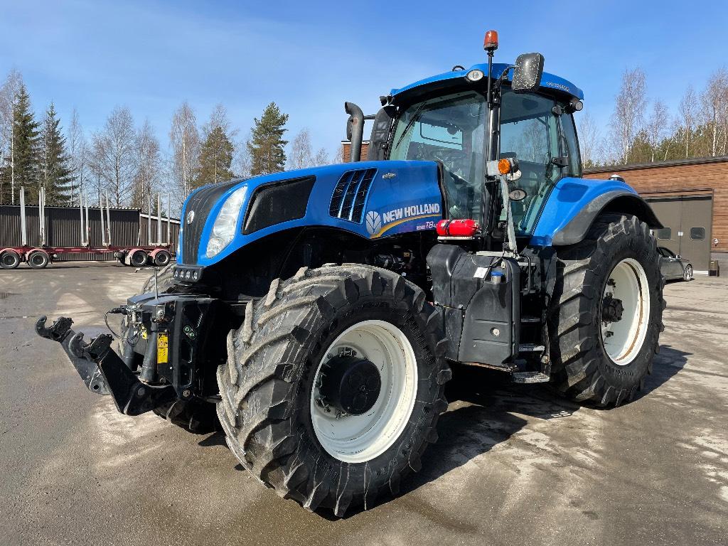 New Holland T 8.420, Traktorit, Maatalous