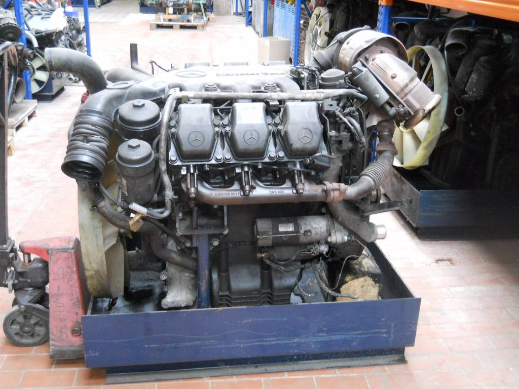 Used mercedes benz om501la om 501 la engines year 2000 for Used mercedes benz engine