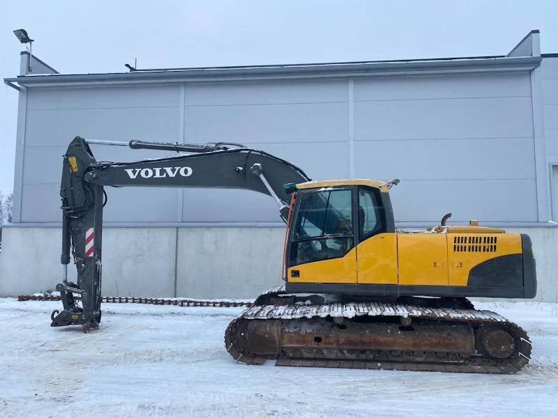 Volvo EC210CL, Crawler Excavators, Construction Equipment