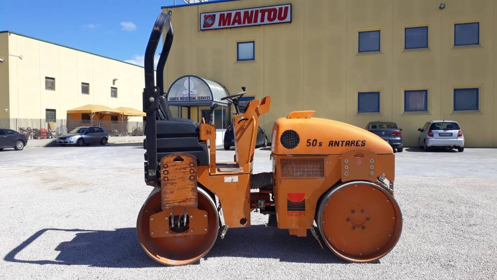 Sicom 50s ANTARES, Twin drum rollers, Construction Equipment