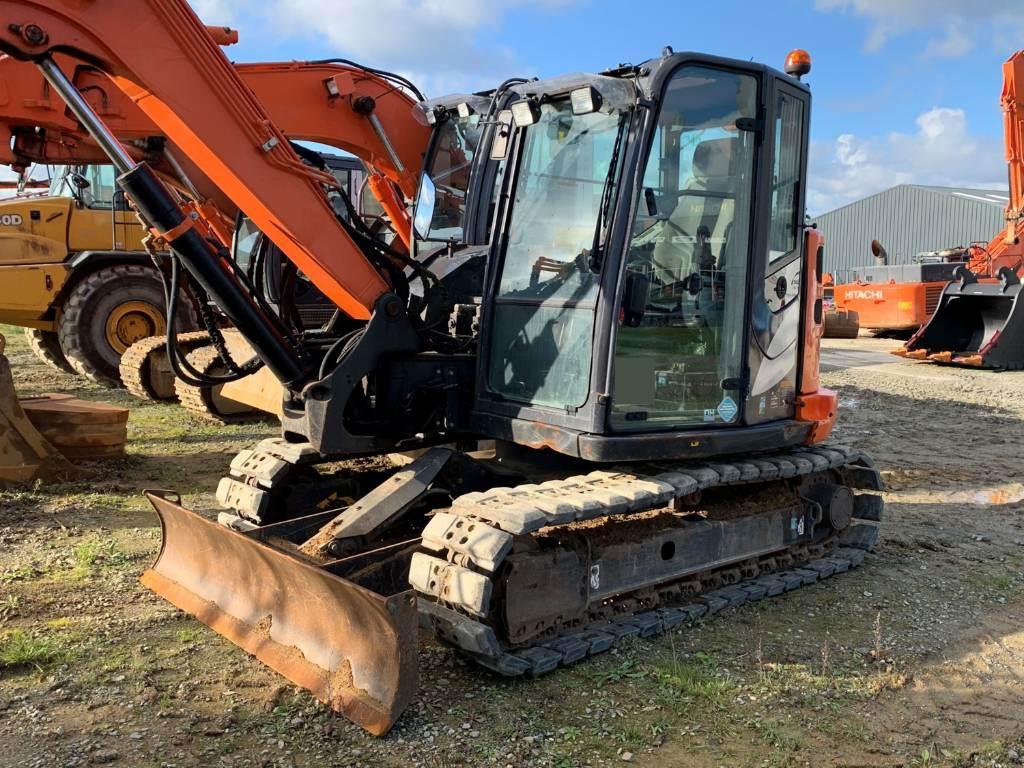 Hitachi ZX 85 US B LC N-5A, Mini excavators  7t - 12t, Construction Equipment
